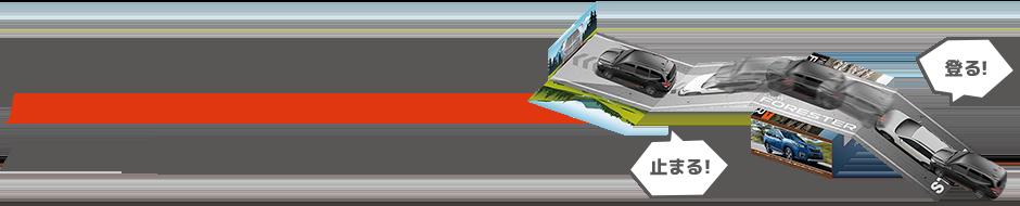 NEWフォレスター AWDプルバック マグネットカー