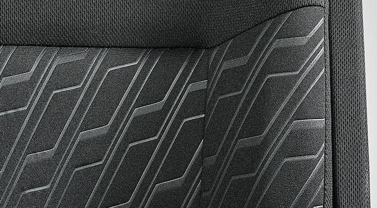 ジャスティ カスタムR スマートアシスト シート材質:カスタム専用ファブリック(撥水加工)