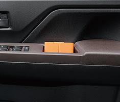Justy ön kapı çekme tutamağı cebi (sürücü ve ön yolcu)