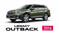 LEGACY OUTBACK 2016