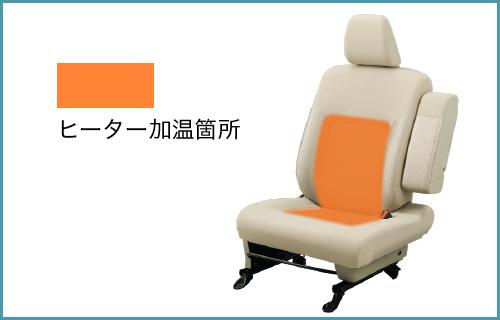 ステラ 運転席シートヒーター イメージ
