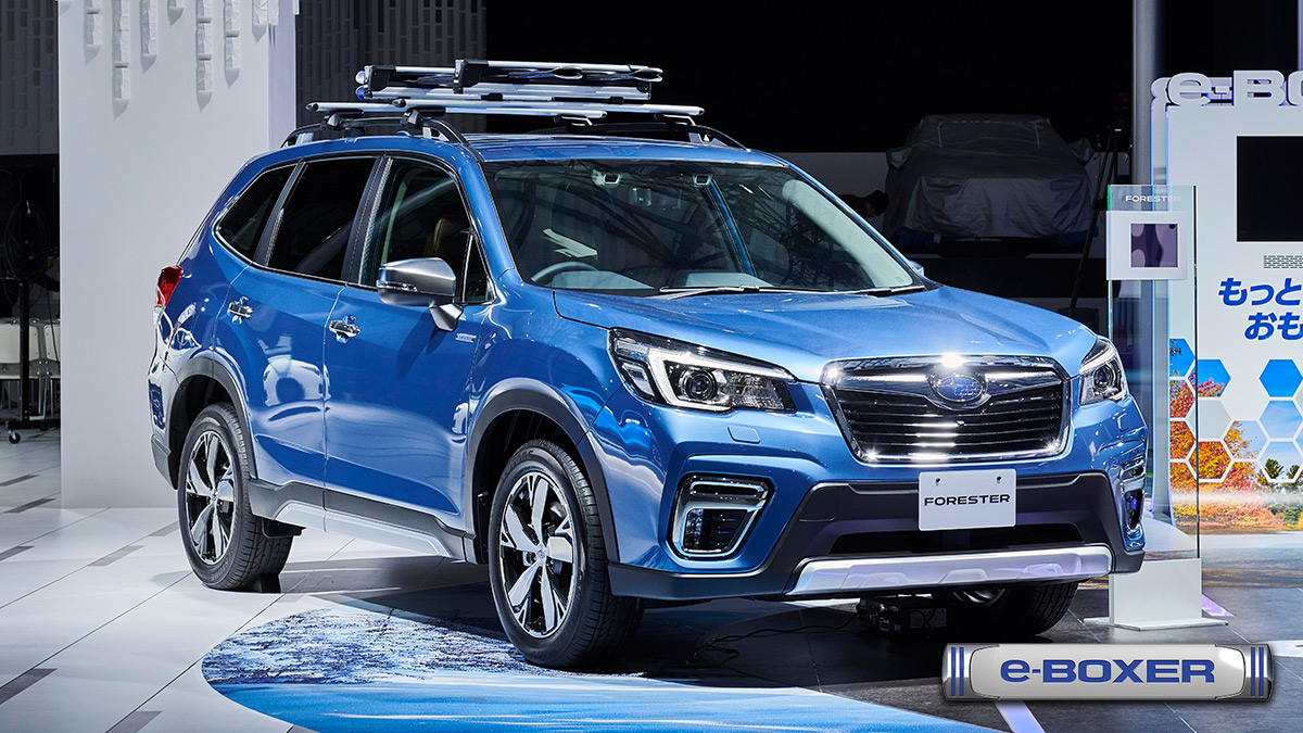 FORESTER_IMG_CAR LINE UP<SUBARU東京モーターショー2019>