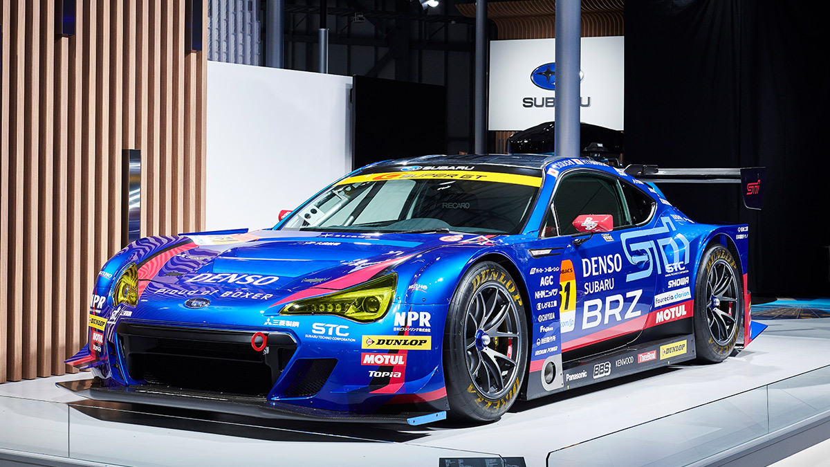SUBARU BRZ GT300_IMG_CAR LINE UP<SUBARU東京モーターショー2019>