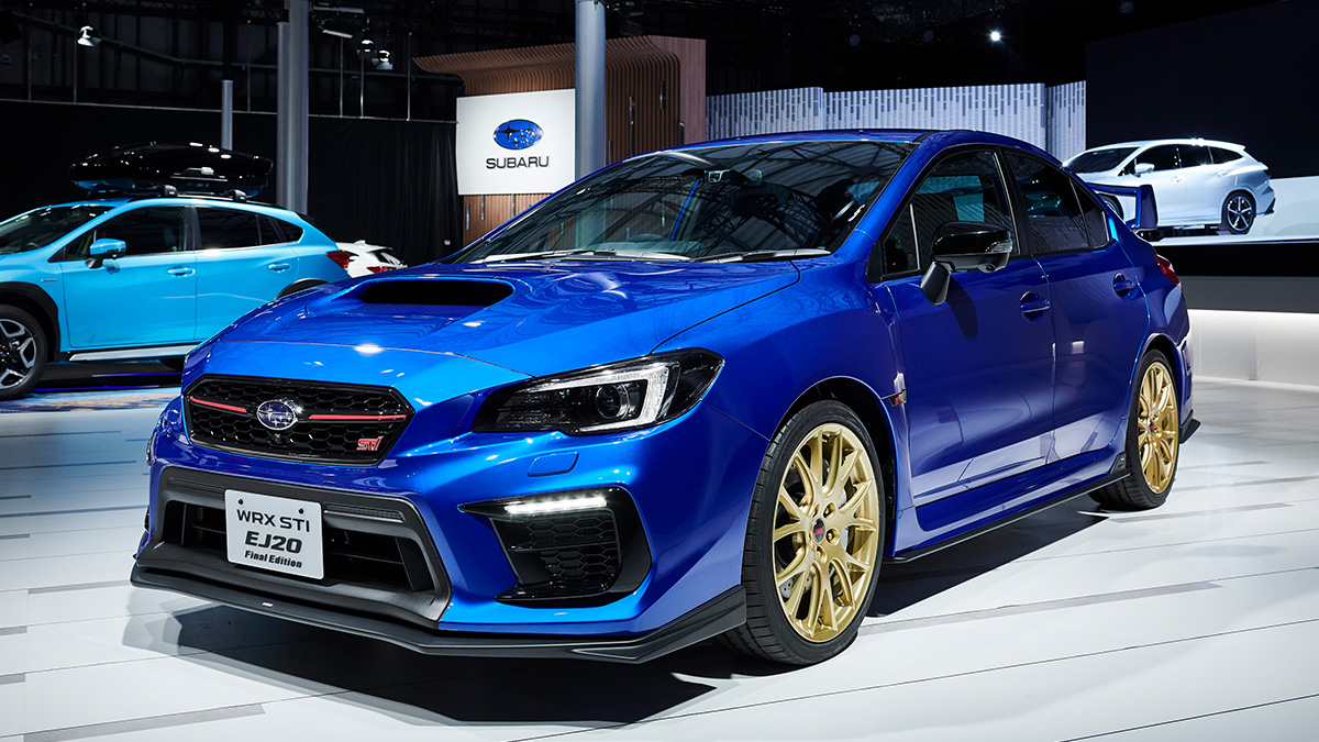 WRX STI EJ20 Final Edition_IMG_CAR LINE UP<SUBARU東京モーターショー2019>