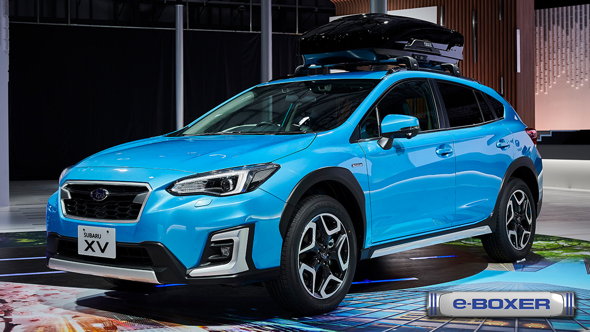 SUBARU XV_IMG_CAR LINE UP<SUBARU東京モーターショー2019>