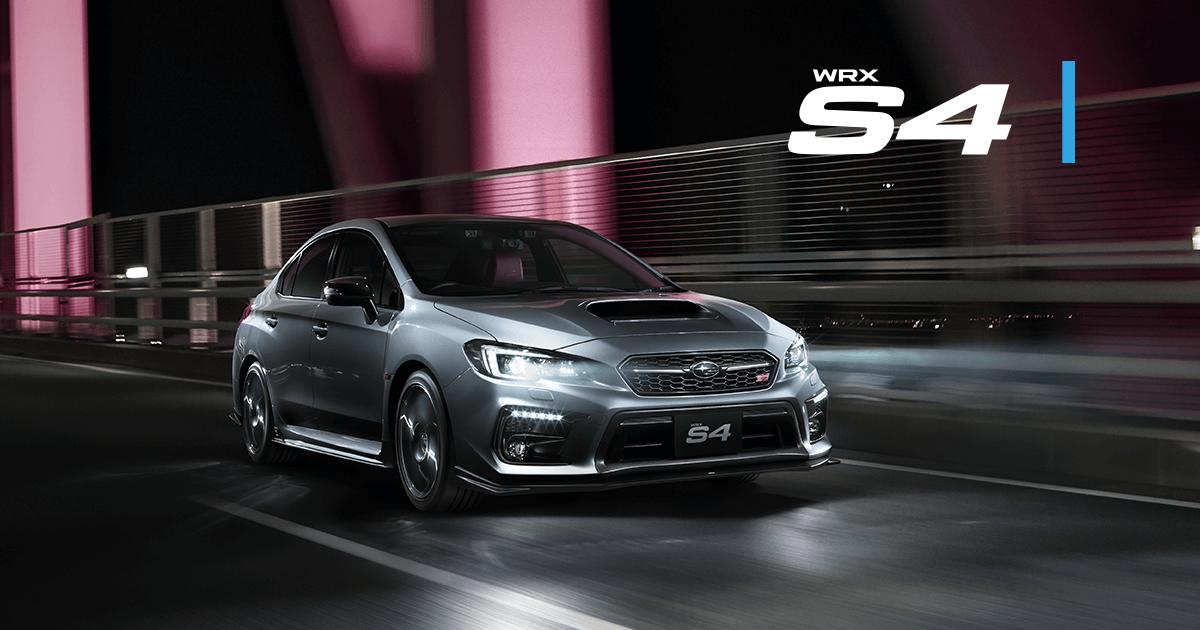 New Subaru Xv >> WRX S4 STI Sport   SUBARU