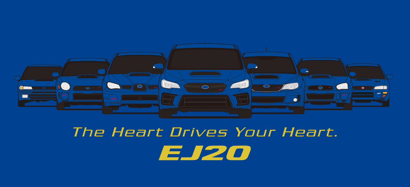 The Heart Drives Your Heart. EJ20