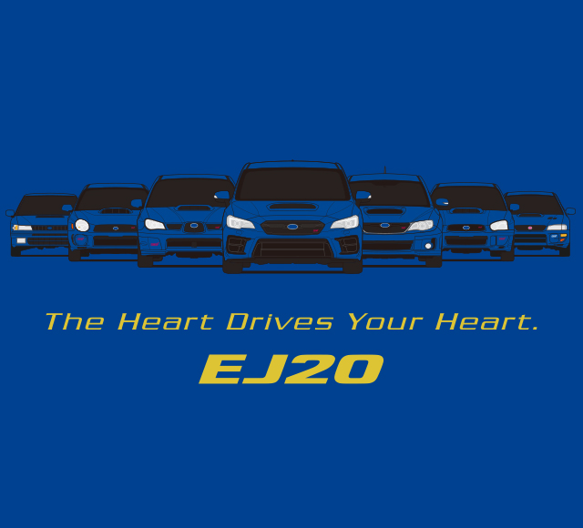 The Heart is Drives Your Heart. EJ20